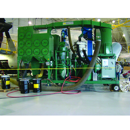 Abrasive Blast Systems Custom Sandblast Machine for Aerospace Use