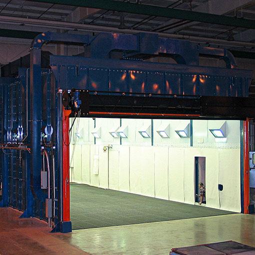 Abrasive Blast Systems - Blast Rooms