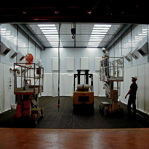 ABS Blast Room Installation