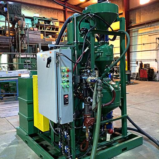 Custom Designed & Transportable Sandblast Machine